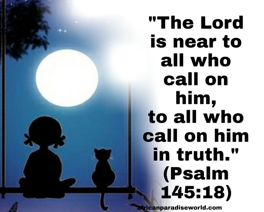 God is near to you verse