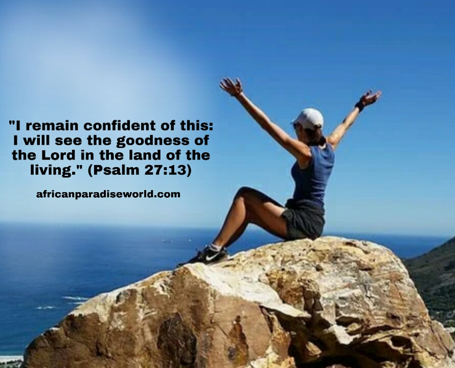 Remain confident in the Lord verse
