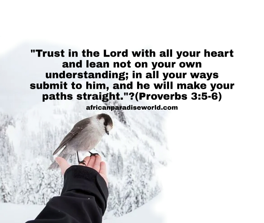Bible verses about trust