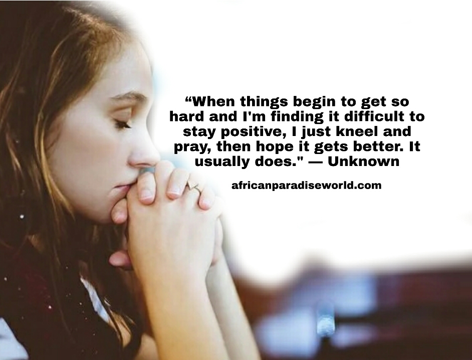 Efforts quote about prayer