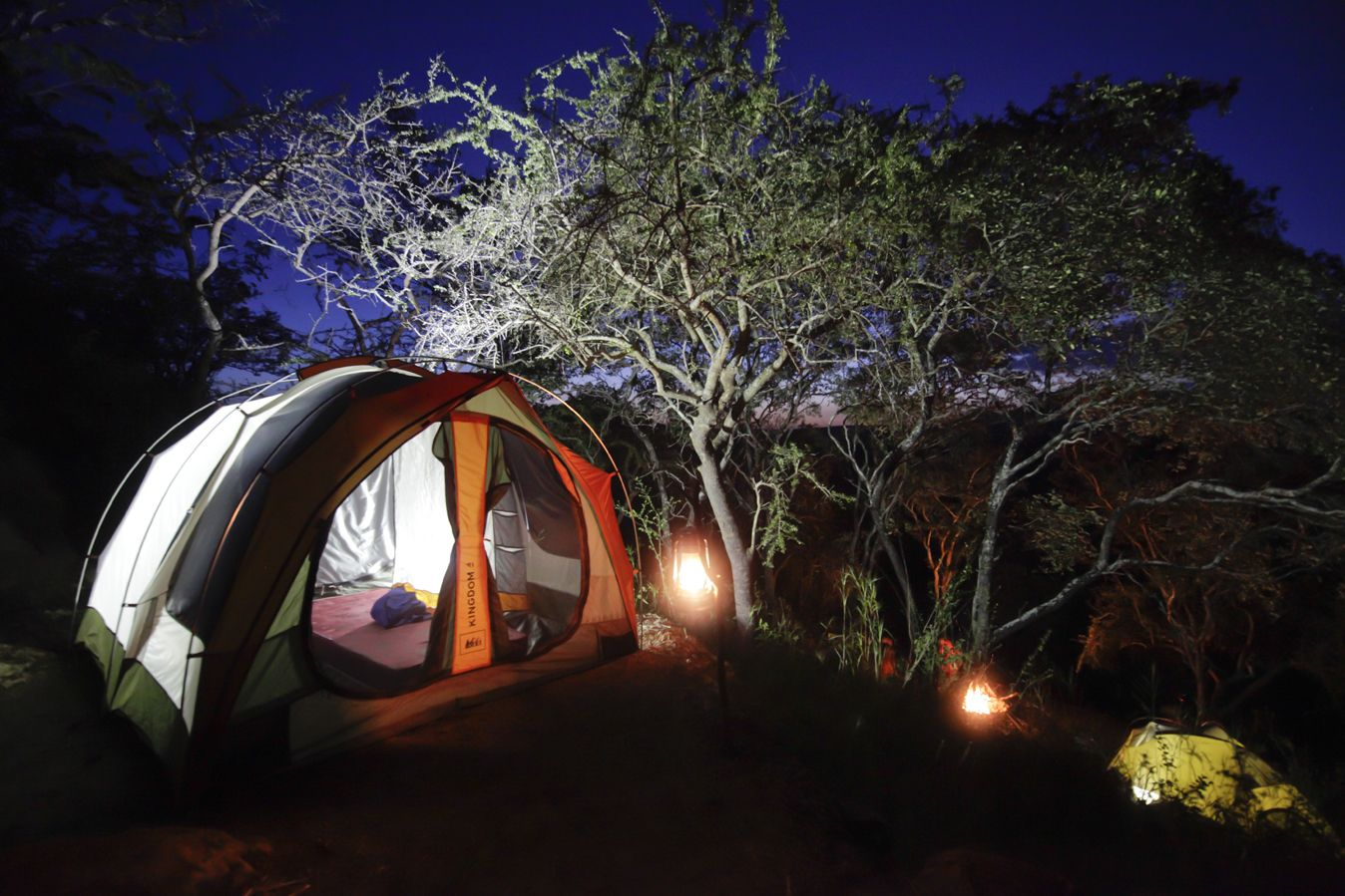 The Oldonyo Nape community campsite is one of APW's sustainable enterprise programs.