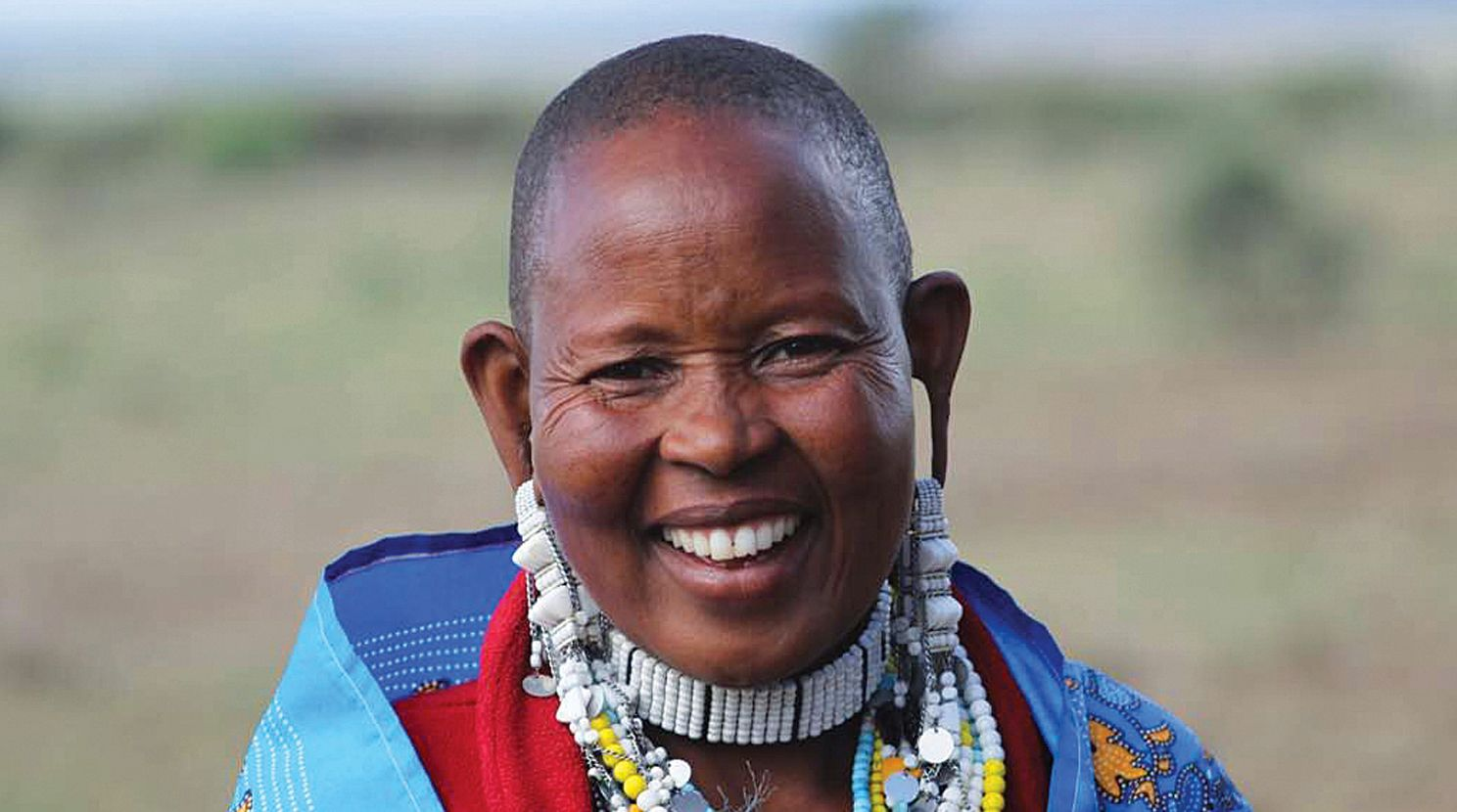 A Maasai woman in northern Tanzania