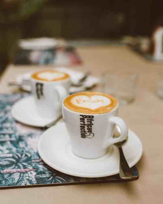 African Perfection Cappuccino