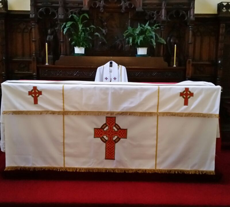 Altar Frontal Celtic Cross