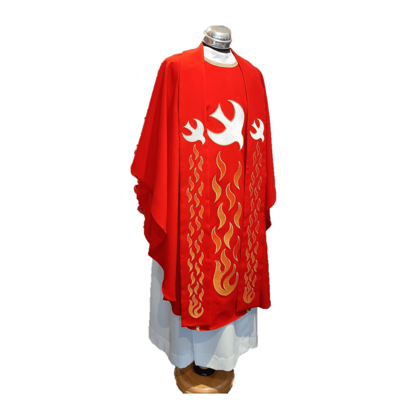 Chasuble & Stole Eternal Flames