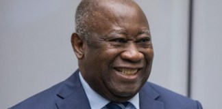 Former Ivory Coast president, Laurent Gbagbo