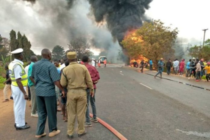 At least 57 killed in fuel tanker explosion in Tanzania
