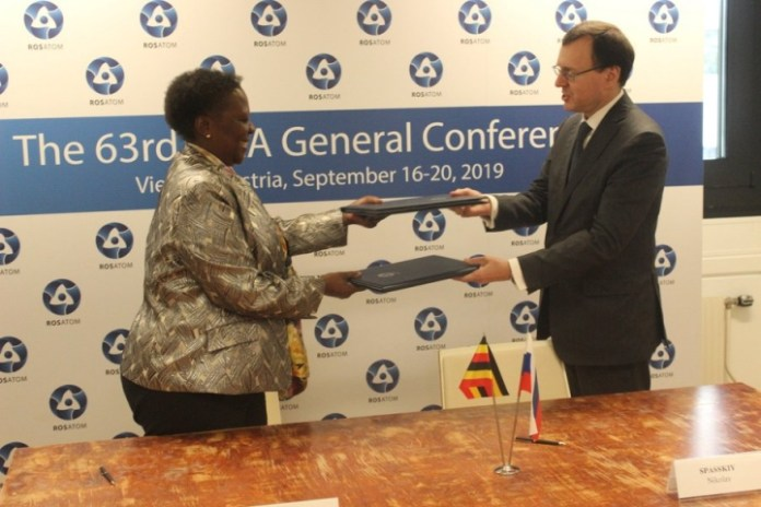 Russia signs deal to develop nuclear energy in Uganda