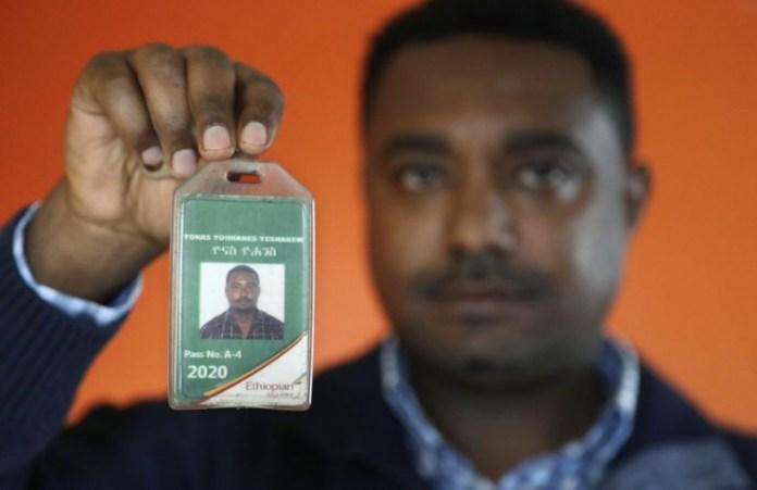 Yonas Yeshanewi Ethiopian Airline chief Engineer