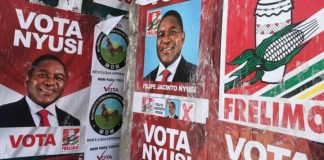 Mozambique ruling party Frelimo on course for tainted victory