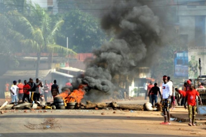 Guinea arraigns detained protest organizers in court