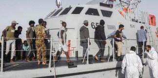 Libya's coast guard stop 102 Europe-bound African migrants