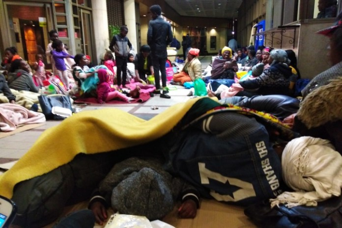Refugees storm UN offices in South Africa, demand relocation