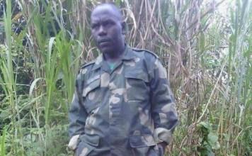 Juvenal Musabimana leader of Splinter Hutu militia in Cono DR