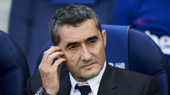 Barcelona sacks coach Ernesto Valverde