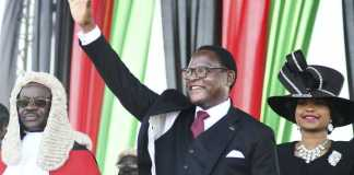 Malawi new president vows to clampdown on graft in subdued inauguration