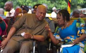 Ghana's Mahama picks first female running mate for major party