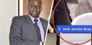 S/Sudan diplomat sparks uproar after urinating during live panel discussion