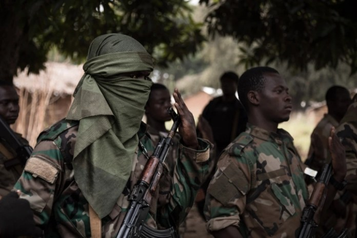 Central African Republic soldiers repel rebels at capital