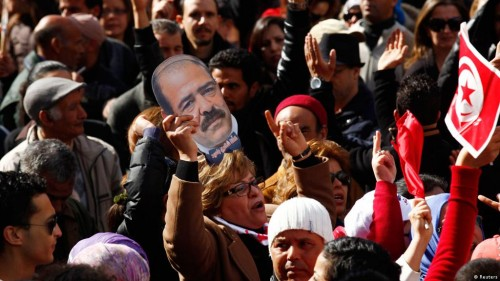 Tunisians want answers on Chokri Belaid who was killed in front of his home in 2013