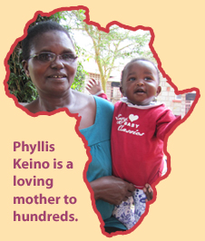 Phyllis is a mother to hundreds