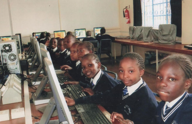 Computers in Kenya: Bridging the Digital Divide And Creating IT Experts