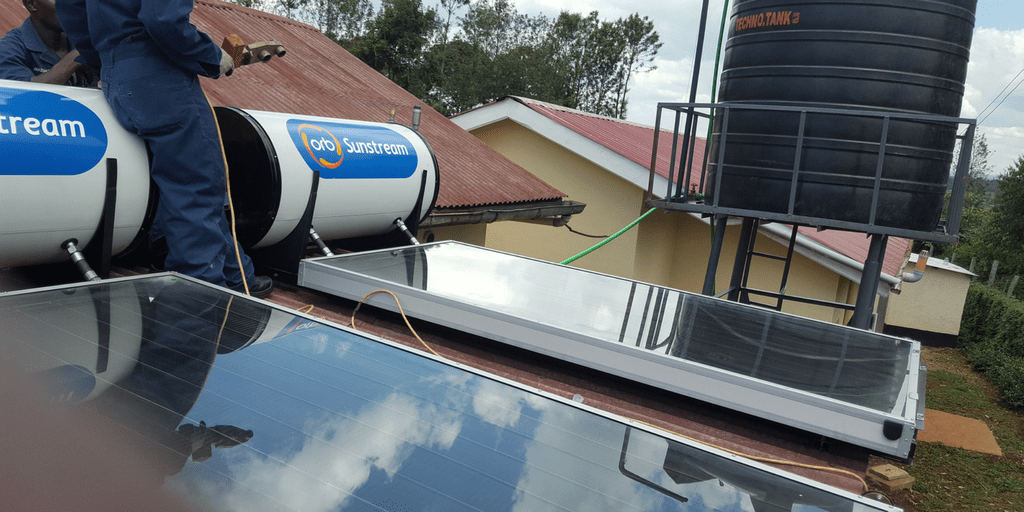 Solar Hot Water System Helps Keep Kenya Clinic Sanitary