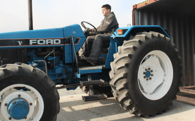 Tractor and More on the Way to Sierra Leone Thanks to the Royer Family Foundation