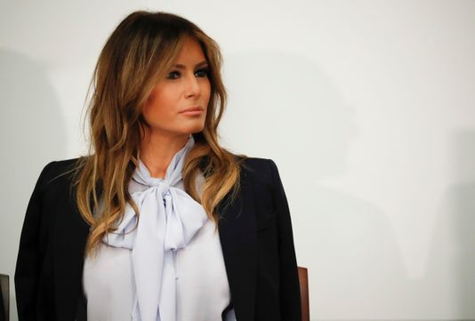 Melania Trump(Photo: Pablo Martinez Monsivais/AP