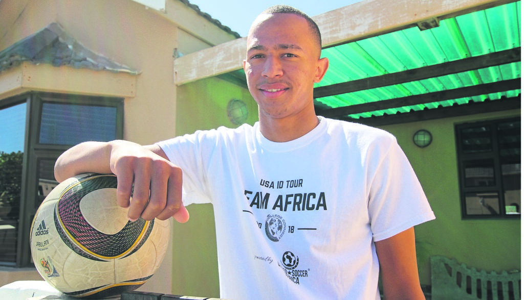 South African Jermaine Mentoor wins soccer scholarship to study in Florida
