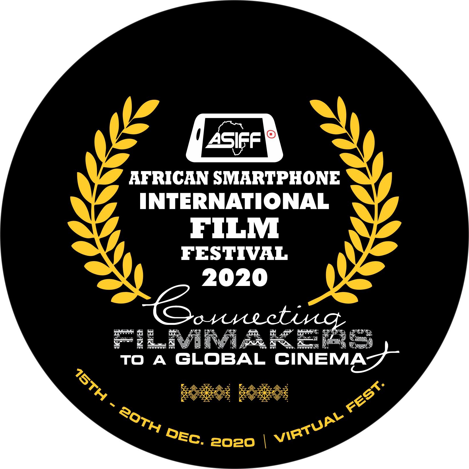FESTIVAL PROGRAMME- African Smartphone International Film Festival (ASIFF2020)
