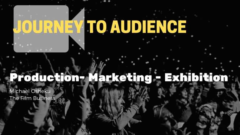 Journey To Audience Workshop facilitated by Michael Osheku and Hosted by Oladipo O'fresh.