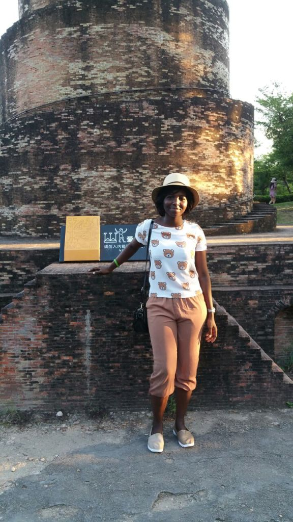 Ghanaian medical student in China
