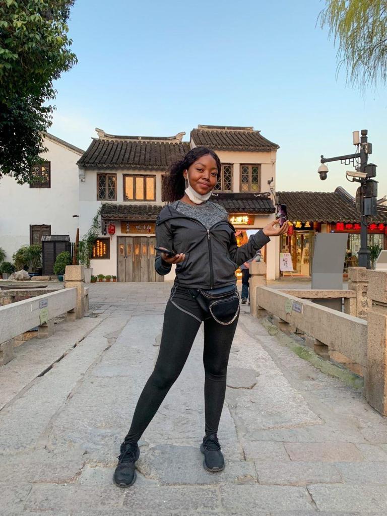 Khanya Gundwana in China