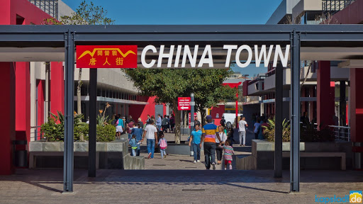 Street sign says China Town located in South Africa