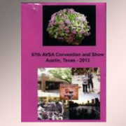 African Violet Society of America 2013 Austin convention media