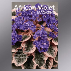 African Violet Magazine Cover May 2020