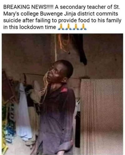 Teacher commits suicide