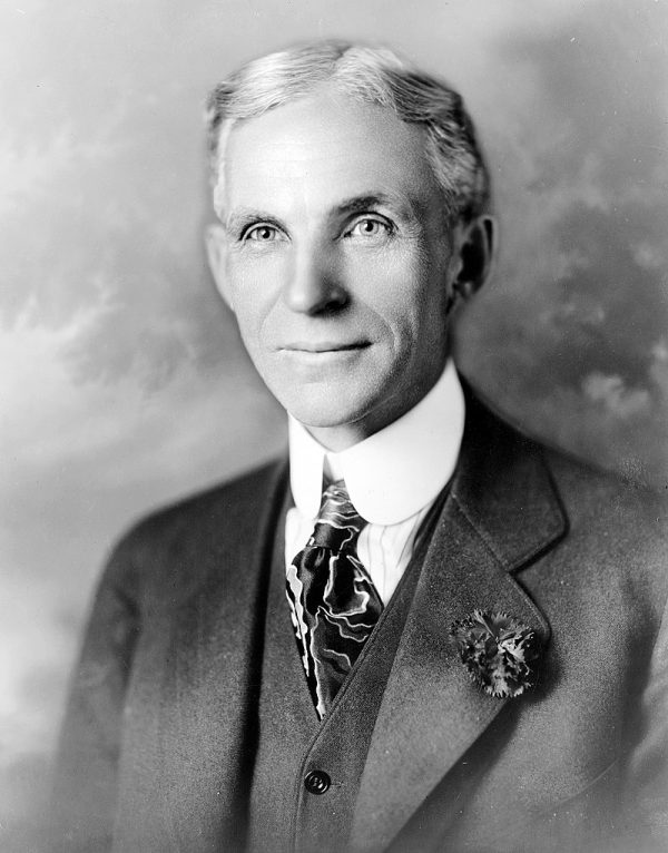Henry Ford is among the trichest people in history