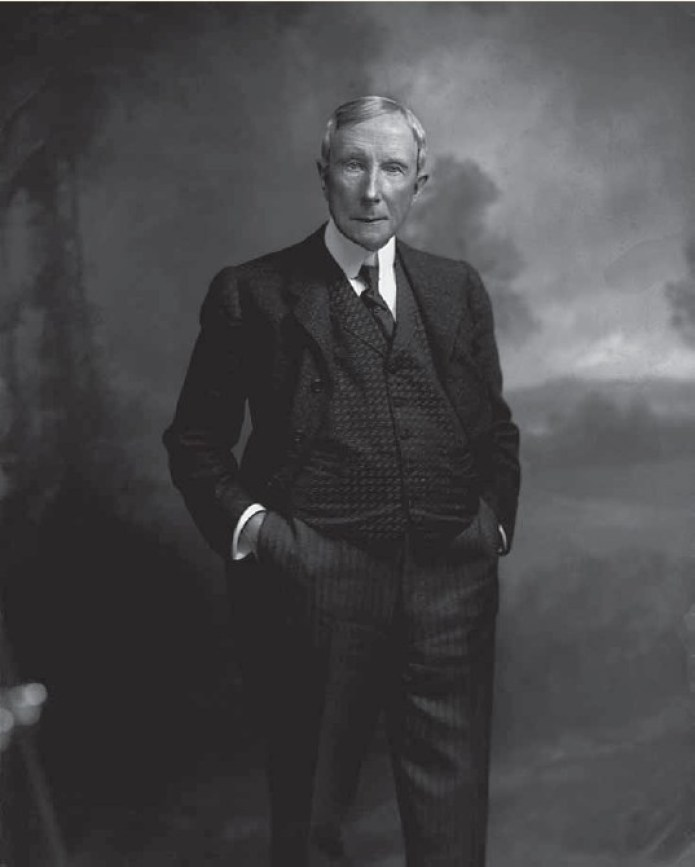 John D Rockefeller is among the richest people in history