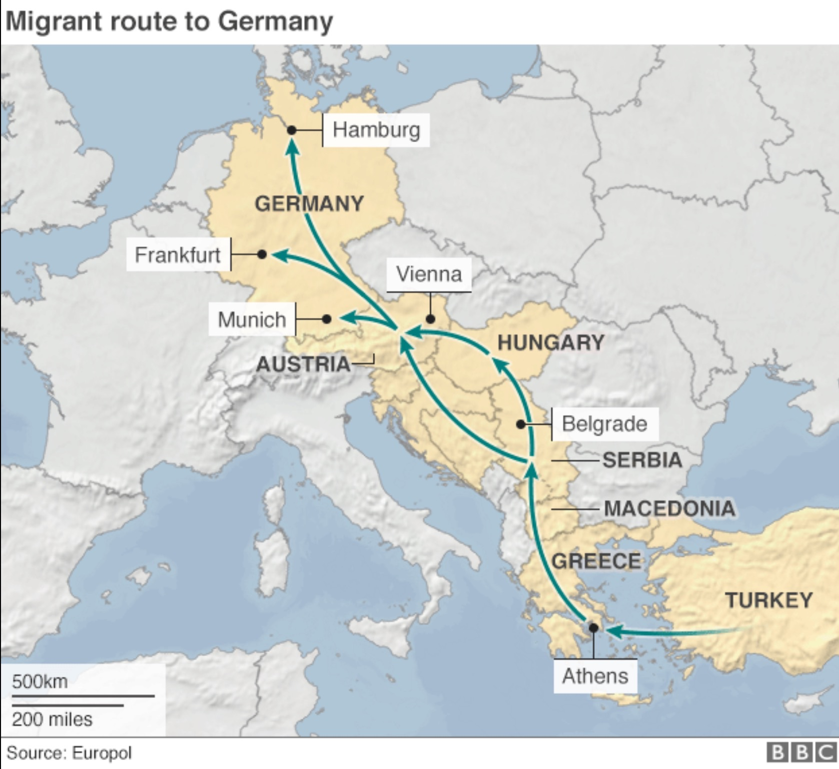 Migrant Crisis: Germany To Start Temporary Border Controls
