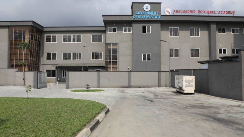 Real Madrid Football Academy: Rivers State Unveils Facility in Port Harcourt