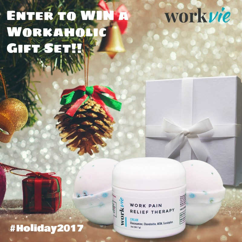 Workvie – Pain Relief for Working Mom's! #Holiday2017