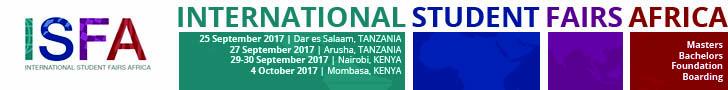 International Students Fairs Africa, Fall 2018
