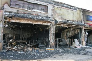damages on structures and buildings