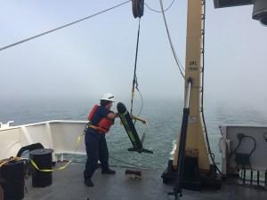survey equipment deployment