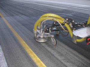water blasting road marking removal