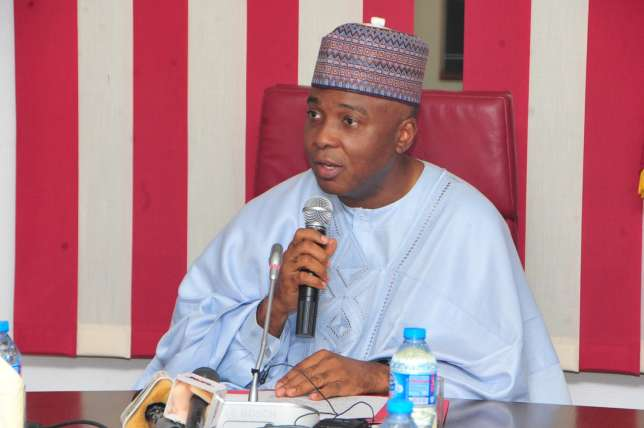 "I am APC member ""body and spirit'' – Saraki"