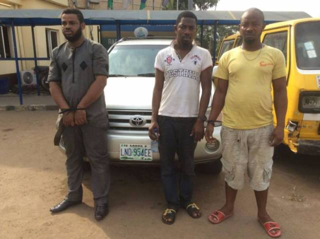 RRS arrest fleeing Kidnappers