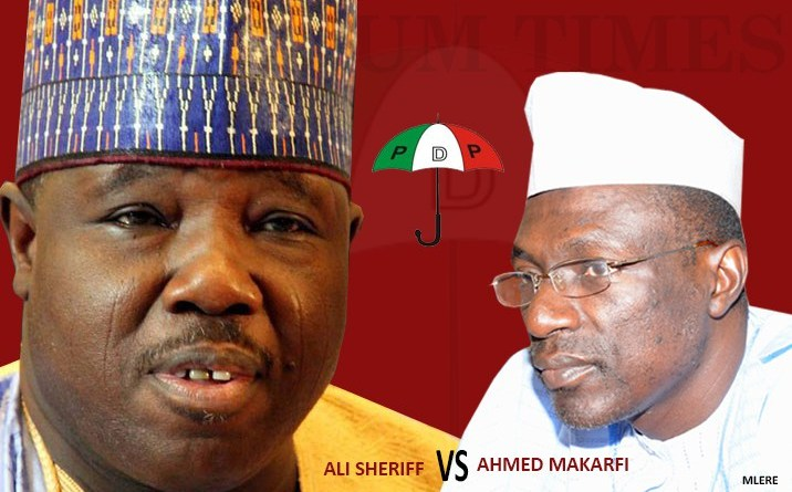 Breaking News: Supreme Court declares Makarfi authentic PDP leader, sacks Sheriff